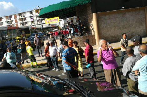 Jubilados volvieron a protestar en los predios de la 5 de mayo