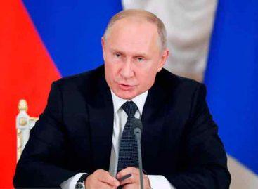 Putin: Si EEUU fabrica misiles de medio y corto alcance Rusia también lo hará