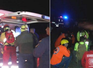 FTC rescató a dos mujeres y dos hombres en la cima del volcán Barú