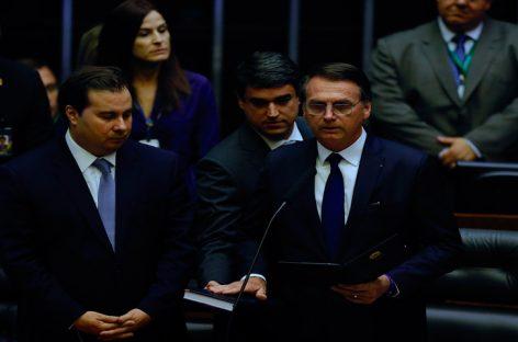 Bolsonaro juró ante el Congreso como nuevo presidente de Brasil