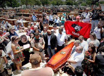 Supremo autorizó a Lula a velar a su hermano minutos antes de ser enterrado