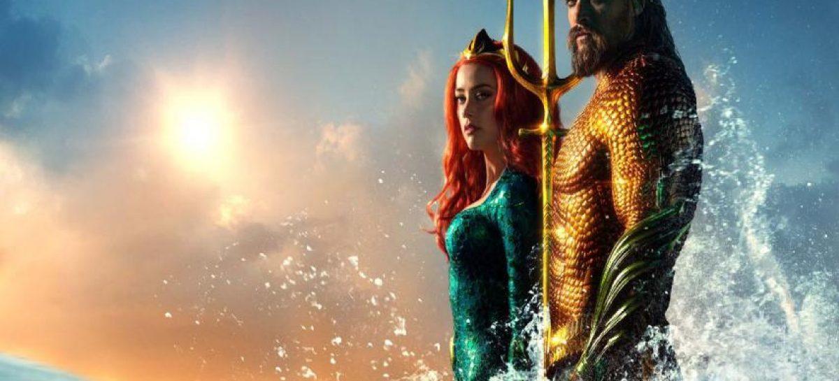 """""""Aquaman"""" reinó en taquilla estadounidense por tercera semana seguida"""