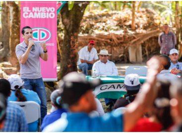 Rómulo Roux durante gira por Veraguas: Están por terminar los tiempos oscuros en Panamá