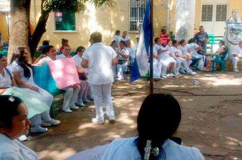 35 mil empleados de salud van a paro en Honduras y exigen subir salarios
