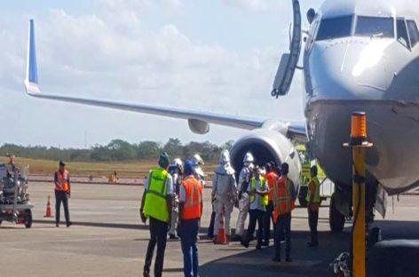 Avión de Copa que despegó de Tocumen sufre percance por impacto de ave en uno de los motores