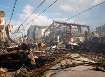 Cifra de fallecidos tras explosión de fábrica en Dominicana subió a cinco