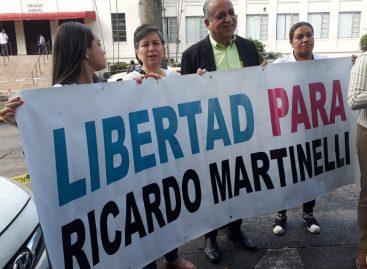 Organizarán vigilia para pedir excarcelación de Martinelli el 4-F