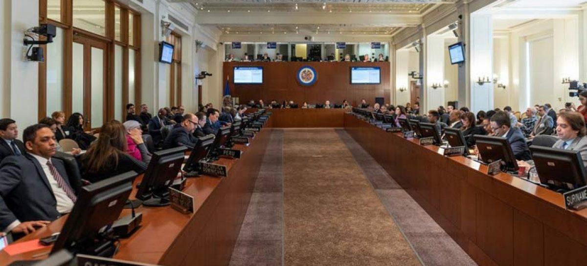 "16 países OEA manifestaron su ""pleno respaldo"" a Guaidó"