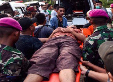 48 heridos y más de 300 casas dañadas por sismo en Indonesia