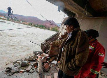 Bolivia decretó emergencia nacional para ayudar a zonas afectadas por lluvias