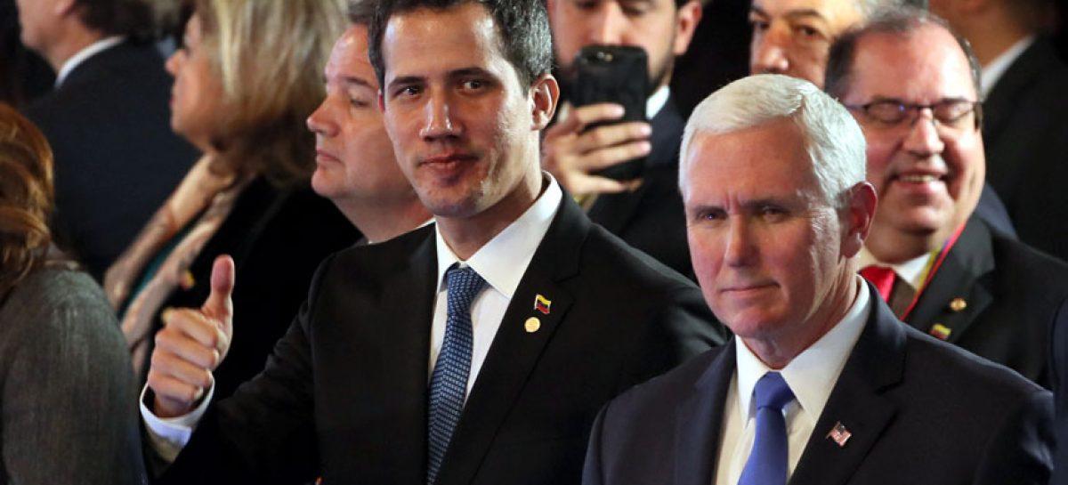 Mike Pence instó a países a congelar activos de Pdvsa