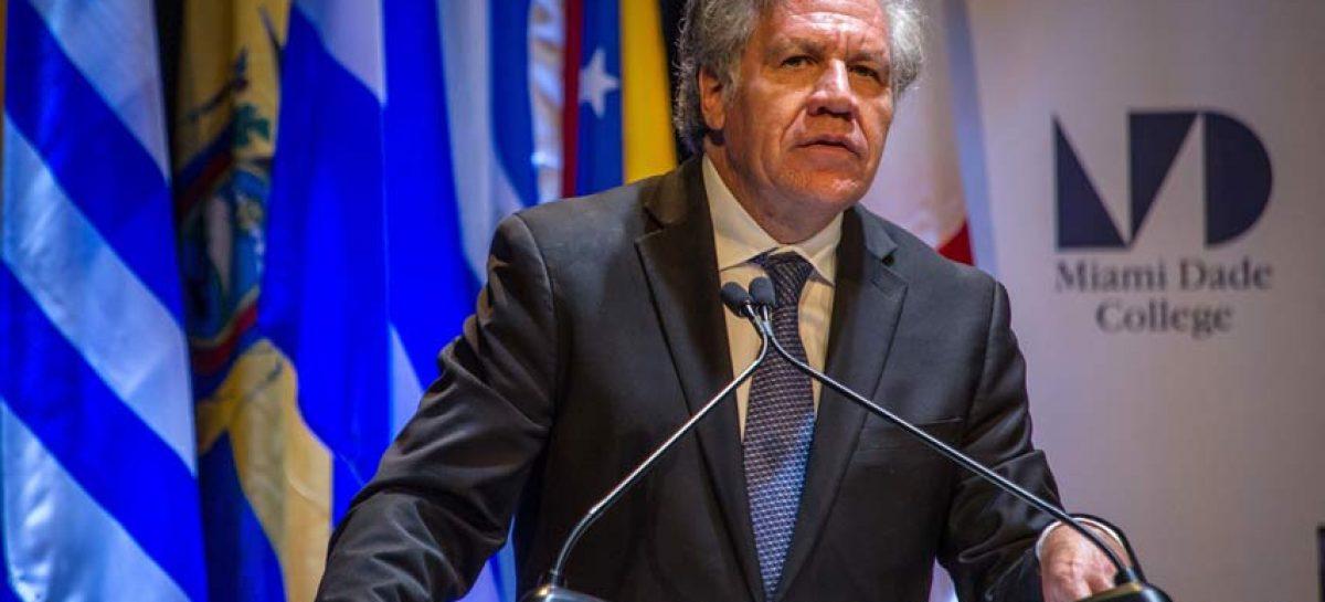 Almagro: Tenemos el deber de ingresar esta ayuda humanitaria a Venezuela