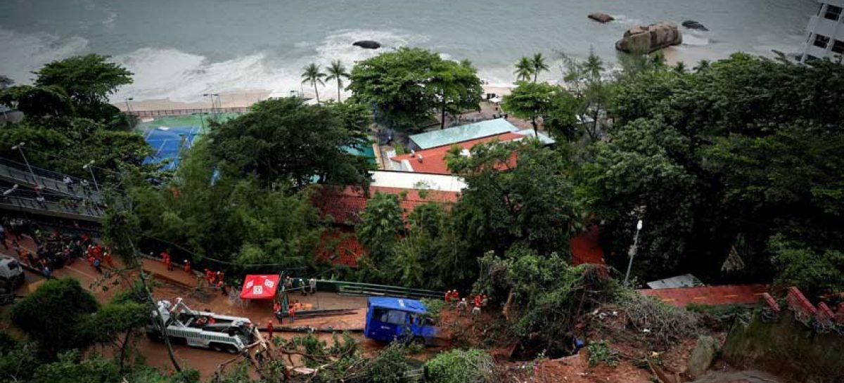 Al menos cinco muertos por fuertes lluvias en Río de Janeiro