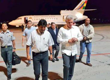 Evo Morales se reúne en La Habana con Díaz-Canel