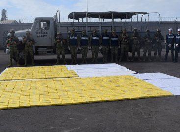 Marina de México interceptó embarcación con 630 kilos de cocaína