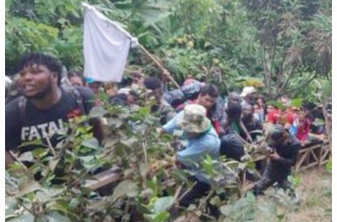 600 migrantes cubanos y africanos represados en la frontera tras detección de casos de malaria africana