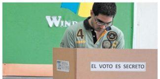 Voto adelantado