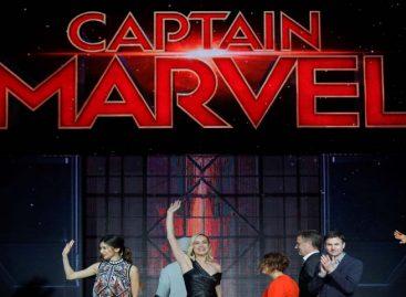 Capitana Marvel sigue en lo más alto en las carteleras de los Estados Unidos