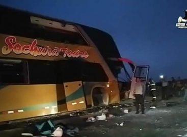8 seguidores de Alan García que viajaban a funeral fallecieron en accidente de autobús