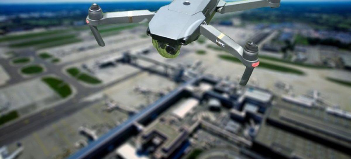 Un dron sin autorización se atasca en la catedral de Estrasburgo