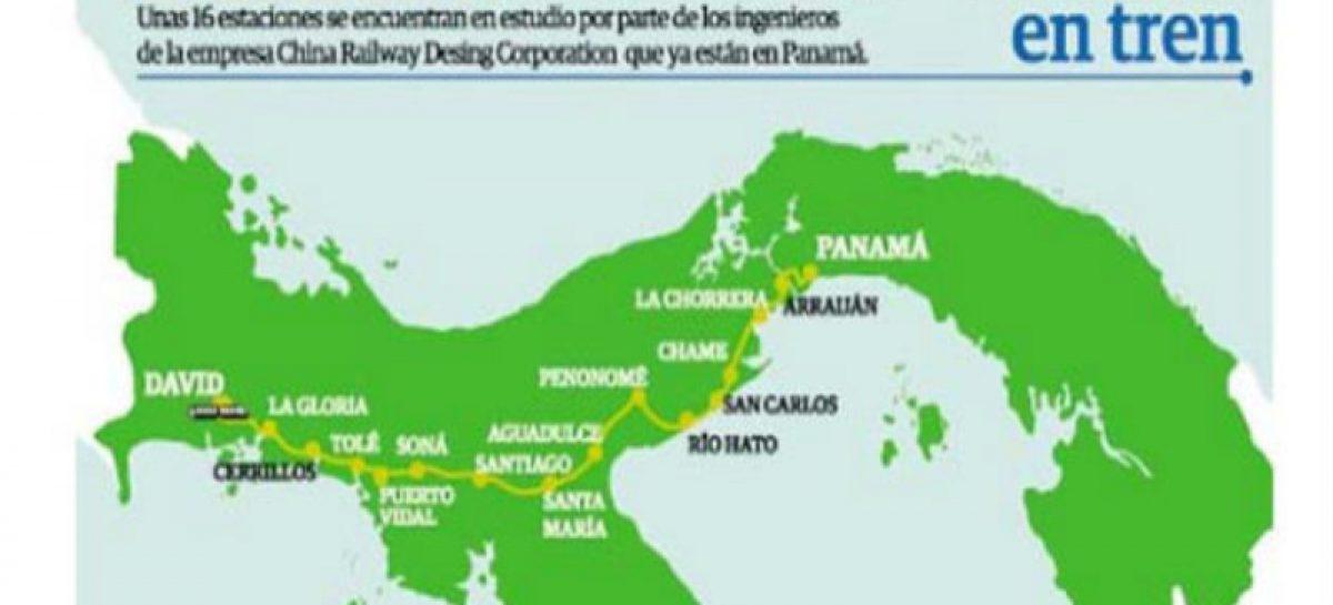 El costo aproximado que tendrá el tren Panamá-David
