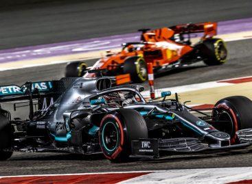 Hamilton encabezó otro 'doblete' de Mercedes en Baréin