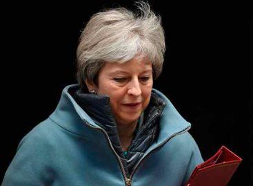 """May, abierta a una prórroga flexible del """"brexit"""" hasta que haya pacto salida"""