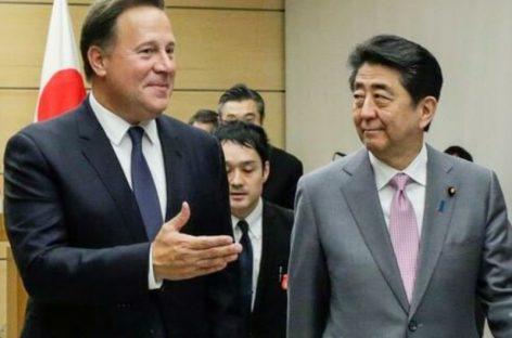 Varela se reunió con presidente de Japón y reafirma necesidad de mantener relación «estratégica»