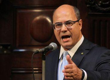 Gobernador de Río de Janeiro admite que la policía usa francotiradores