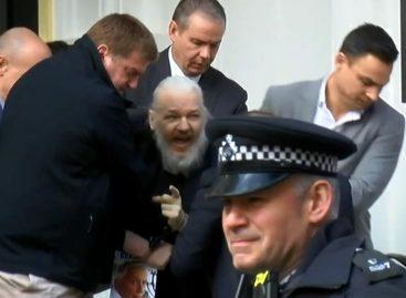 Julian Assange, fundador de WikiLeaks fue detenido en Londres