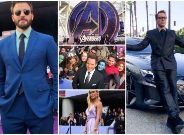 Las mejores imágenes que nos dejó la premiere de Avengers EndGame en Los Ángeles (+Fotos y Videos)