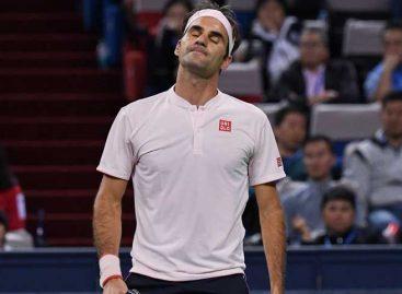 Federer se retiró del Masters de Roma por lesión en la pierna derecha