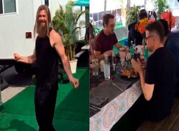 El video de los Avengers bailando y comiendo al ritmo de «La Bamba» con mariachi que se hizo viral (+Video)