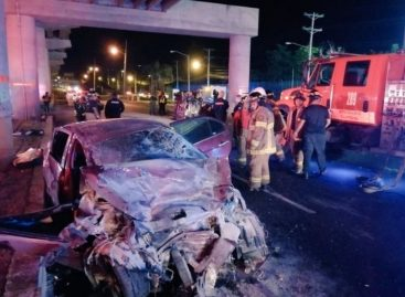 Ministerio Público investiga accidente frente a Metro Mall
