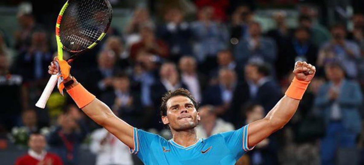 Rafael Nadal quedó campeón en el Masters 1000 de Roma