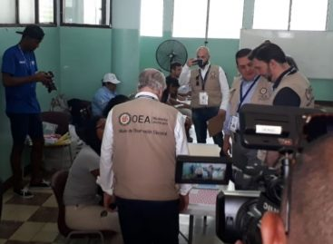 OEA destacó paz y tranquilidad del proceso electoral en Panamá