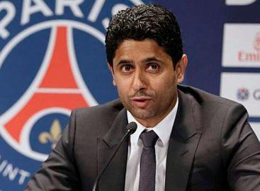 Presidente del PSG, imputado por corrupción activa en Francia