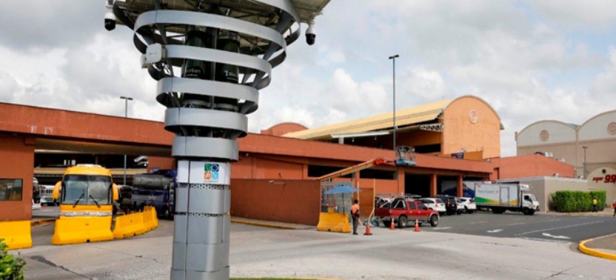 Instalan primer biofiltro de Panamá en el Terminal Nacional de Transporte