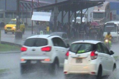 Sinaproc advierte sobre lluvia con descargas eléctricas