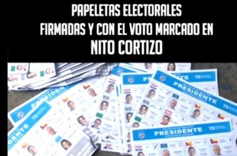 (VIDEO) Hallan cientos de papeletas firmadas y con votos para Cortizo en basureros de escuela (no fueron quemadas tras conteo)