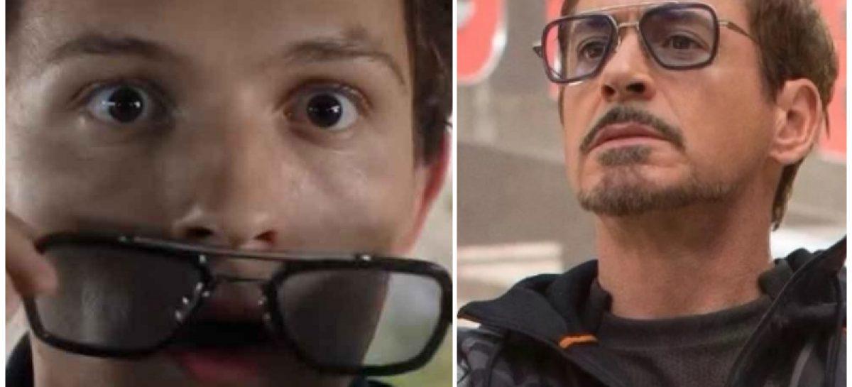 Las gafas que podrían indicar un cameo de «Tony Stark» en Spiderman Far From Home