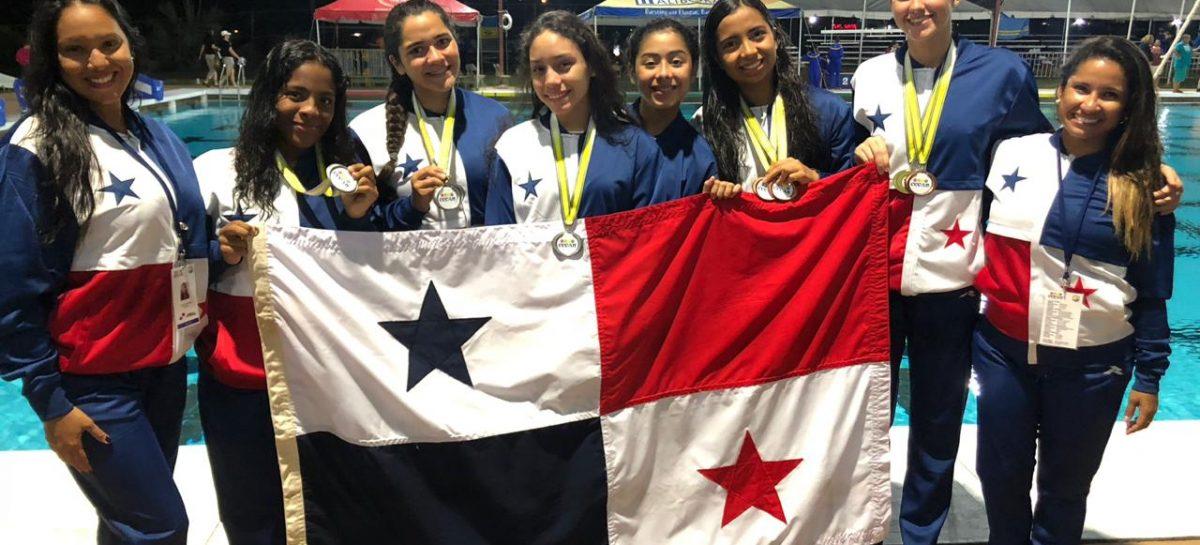 Panamá destaca con seis medallas en Natación Artística en Barbados