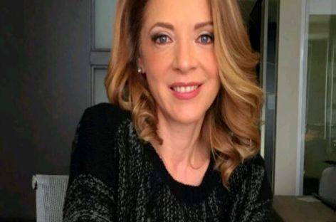 En el último video que compartió Edith González en su Instagram caminaba por un cementerio y vestía de negro