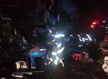 Diez muertos y 51 heridos en accidente de autobús en Brasil