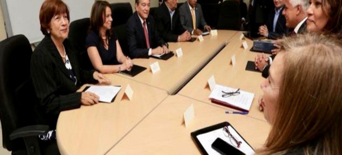 Cortizo lideró reunión de transición en el Meduca