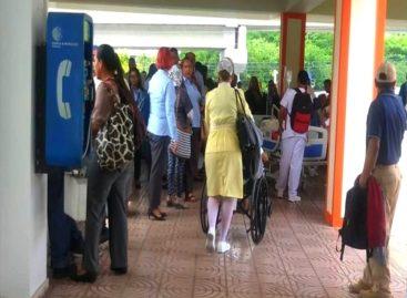 Supuesta fuga de gas causó pánico en Hospital San Miguel Arcángel: Autoridades lo descartan