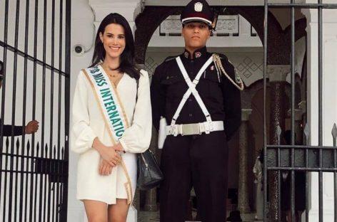 Miss International 2018, la venezolana Mariem Velazco, disfruta de lo lindo en Panamá (+Fotos)