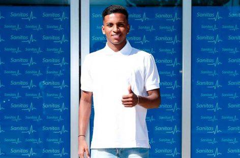 Rodrygo superó el reconocimiento médico y firma por el Real Madrid
