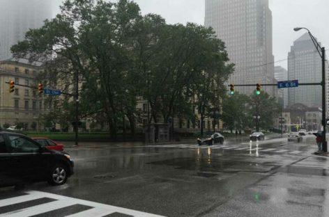 El mal tiempo impidió que la Sele entrenara en Cleveland