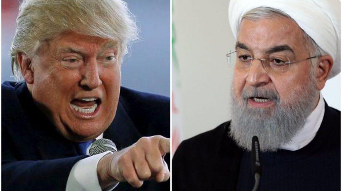 Trump amenazó responder con fuerza a los ataques de Irán contra EEUU